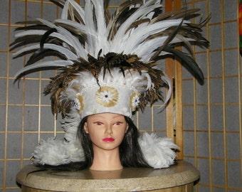 Tahitian Headdress for Otea or SOLO performance