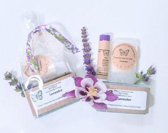 Lavender Gift Set, Lavender, Spa Gift Set, Spa Gift, Beauty Gift Set, Organic Spa Set, Soap Gift Set, Bath Gift Set, Wedding Shower Favor