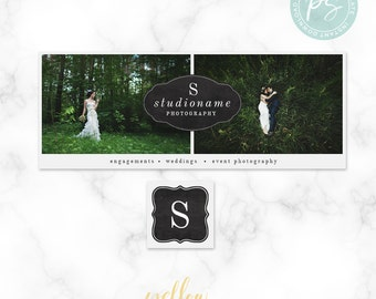Facebook Timeline Cover Template - Photoshop Template - Facebook Cover for Photographers - Facebook Branding - Photo Template SKU FBT001