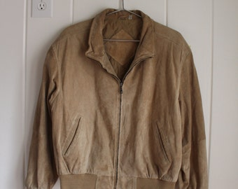 Vintage 1980's Collared Bomber