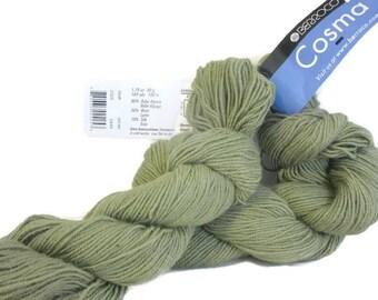 Fil, laine, mérinos laine alpaga soie tricot, Crochet Berroco Cosma Chunky cadeau pour les femmes des cadeaux uniques, Eco friendly cadeau pour son Iris n ° 2425