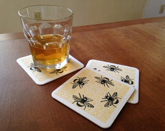 6 Coasters, Bees