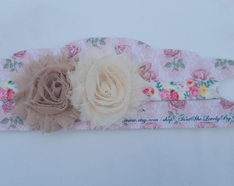 Vintage Inspired Headband, Girly Headband, Baby Headband, Infant Headbands