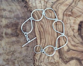 Drop Bracelet Silver