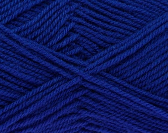 Royal (21) Blue King Cole Pricewise DK Double Knit Yarn Knitting