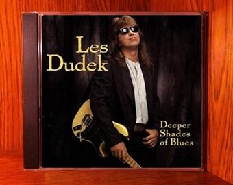 Les Dudek - Deeper Shades Of Blues  - Vintage CD