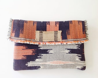 Boho tribal clutch, woman gift, clutch, one of a kind clutch, Australian made, accessories, purse, gift for girl, iphone clutch, original