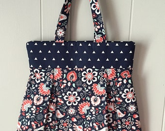 Birds & Flowers - Medium Tote
