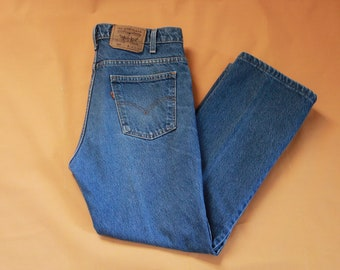 Vintage 1970s / 1980s Levi Strauss & Co Orange Tab Levi's 517 Jeans US Men's Size W 34 Made in USA