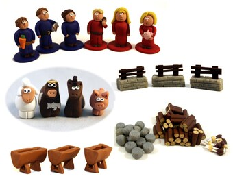 Agricola: All Creatures Big and Small Complete Set- 6 player tokens, Animals, Borders, Troughs, and Resources