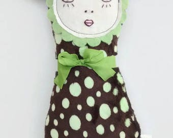 Handmade Art Doll - Sweet Pea