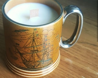 Lord Nelson's Famous Flagship soy wax candle