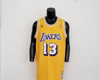 Los Angeles Lakers Wilt Chamberlain Jersey Sz. XL
