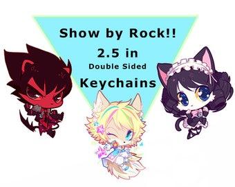 Show by Rock!! SB69 2.5 in Charm Keychain
