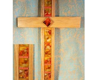 SunriseMesaDesigns Hanging Wooden Cross