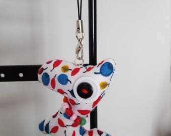 Dog Stuffed cloth bag/key pendant