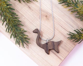 Loch Ness Monster Necklace - Criptid, Cryptozoology, mythological, camping pendent, Sea monster, Scotland, fantasy, handmade, outdoor, myth