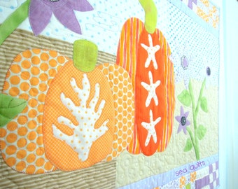 Halloween Quilt Pattern: BOO on the Beach