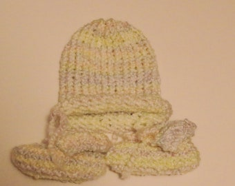 Beanie and Bootie Baby Set