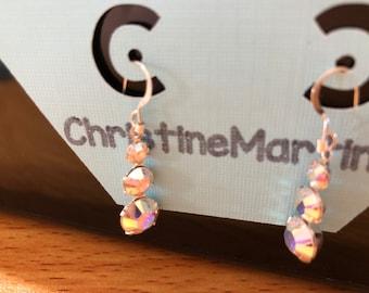 Rainbow Jewel Earrings