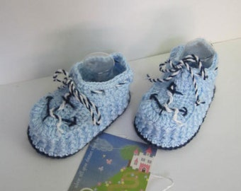 Nautical Baby Shoes Booties, Anchor Baby Booties, Baby Crib Shoes, Navy Blue Baby Booties, Infant Boy Nautical Baby Shower Navy Baby Booties