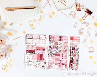 Sweetheart TN POCKET Weekly Kit // 100+ Matte Planner Stickers // Perfect for your Pocket/Personal Traveler's Notebook // TNP0980