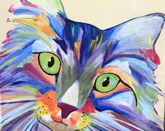 Colorful Animal Painting or Pet Portrait