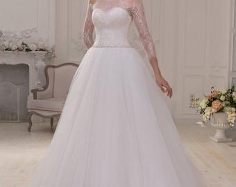 Wedding dress wedding dresses wedding dress princess dress pompous tulle skirt YVONNE