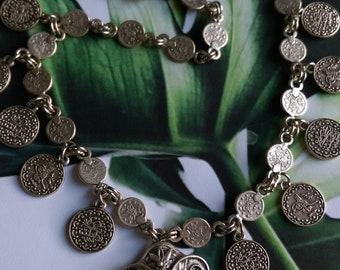 Boho necklace, elephant necklace, bohemian necklace
