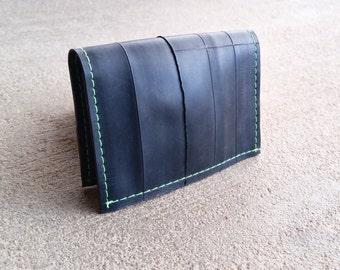 Vegan Wallet Men - Recycled Mens Wallet - Bike Tube Wallet - Gift For Him