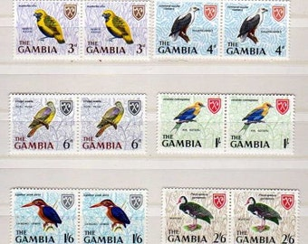 Bird Stamps, Bird Postage Stamps, Unused Stamps, Unused Bird Stamps, Stamps, Birds, Unused Postage Stamps, StampCollection