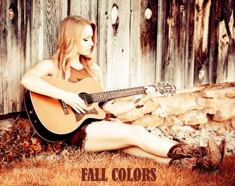 Fall Stylish Colors Effect - Photoshop Action