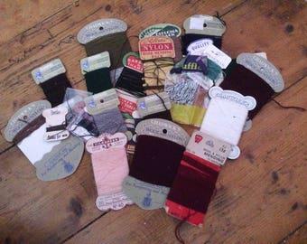 Job Lot of Vintage Threads