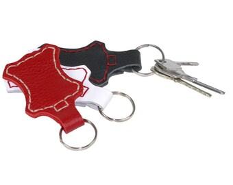Key Ring Kit Leather Key Ring Key Holder Key Ring Kit Keychain Kit Leather Keychain