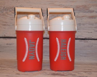 Personalized Sports Igloo Cooler Decal