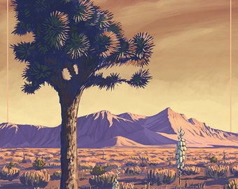 Death Valley National Park - Joshua Tree (Art Prints available in multiple sizes)