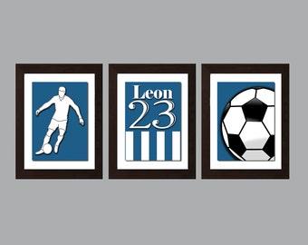 Soccer Wall Art, Soccer Wall Decor, Soccer Decor, Baby Boy Nursery Sports  Decor, Boys Bedroom Decor, Sports Wall Art, Sports Wall Decor,