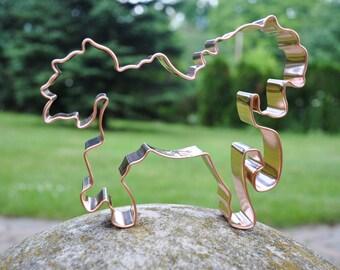 Carousel Horse cookie cutter by ecrandal copper cookie cutter