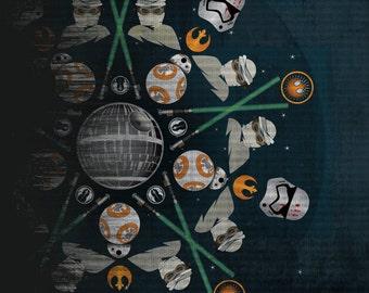 Star Wars Mandala Art Print