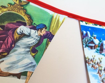 2.6m The Night Before Christmas Golden Book Bunting