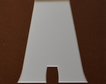 "Alphabet Letters as 8""x10"" Custom Mat"