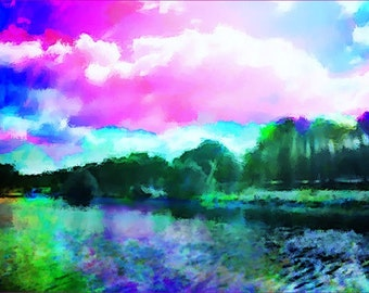 Liffey Landscape no 16 limited edition digital print