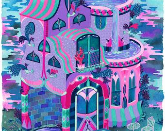 Bertram's House Print