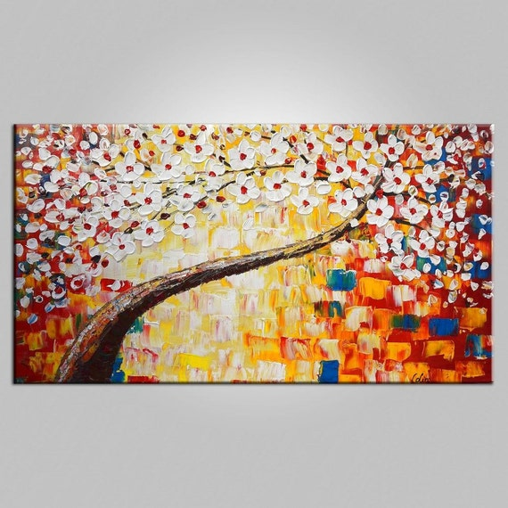 Large Canvas Art Flower Canvas Art Large Wall Art Acrylic