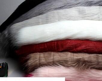 Fake Fur Fabric, Fursuit Material, Long Pile Faux Fur Fabric, Long Pile, Shag Fur, Luxury Shag, Plush Fur, Cosplay Fur, By The Half Yard
