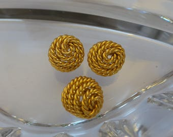 Copper Rope Buttons