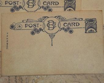 50 - Wedding Guestbook Alternative - Vintage Post Cards - Wedding Wishes - Wedding Escort or Wedding Table Placecards