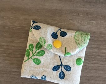 "Mini coin purse ""Spring"""
