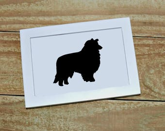 Dog Breed Silhouette Custom Picture