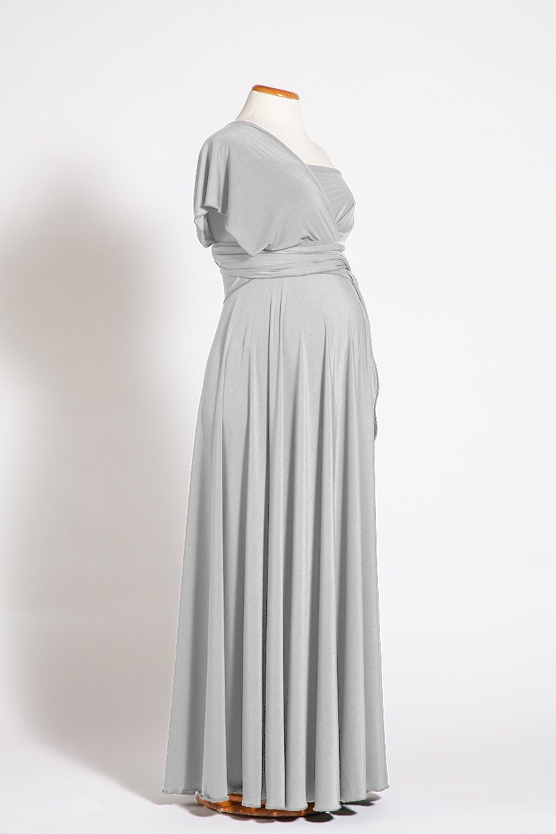 Pearl gray maternity dress long infinity maternity dress description pearl gray maternity dress ombrellifo Images